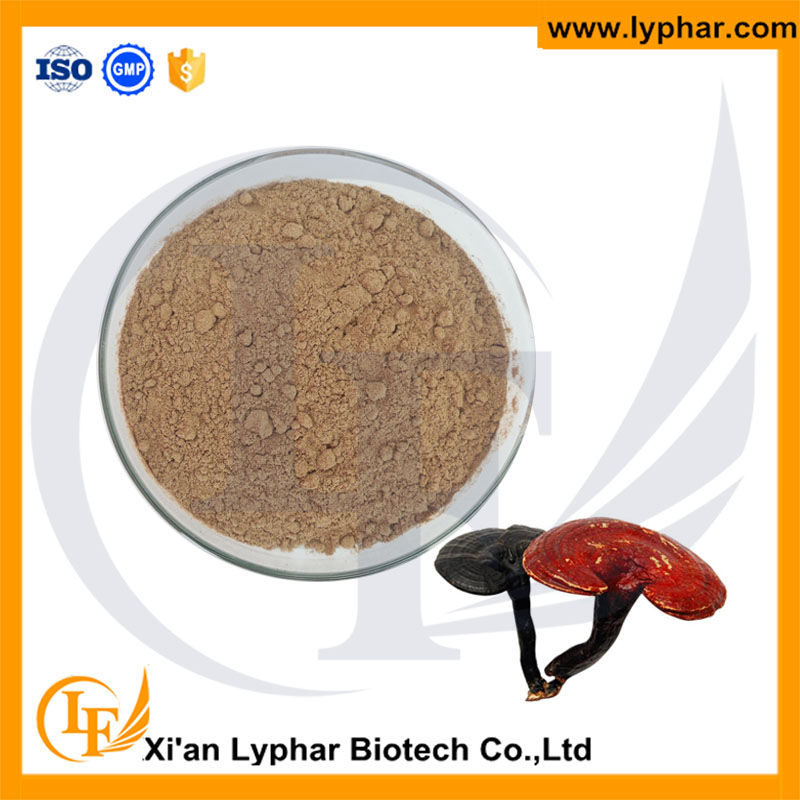 Lyphar Supply Natural Lucid Ganoderma Extract Powder