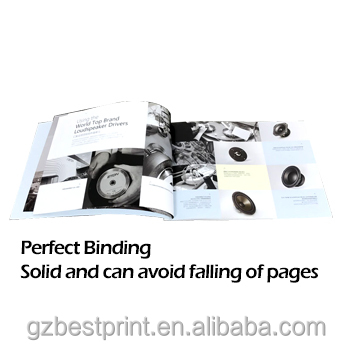 New products promoting catalog a4 copy paper printing service hardcover book printing