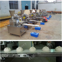 low cost and high profits of steamed stuffed bun machine