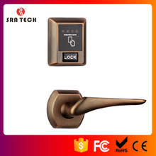 digital door handle lock, high quality door lock, plastic combination lock box