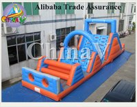 2016 customize inflatable extreme force obstacle, inflatable floating obstacle, inflatable obstacle course for sale