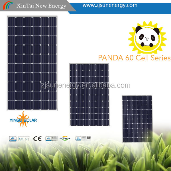 CHINA BEST FACTORY Yingli PANDA Mono 60 CELL 275w 280w 285w 290w 295w 300w Solar Panel
