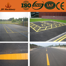 Thermoplastic road marking paint yellow color traffic paint