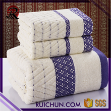 Bulk Buy From China Home Textiles Cotton Fabric Bath Towel Set