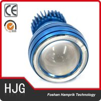 2016 hot sale angel eyes led headlight 20w for motorcycle