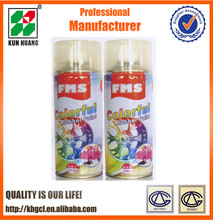 FMS brand Aerosol rubber paint spray for wheel rims ,Rubber coating,peel off easily,Removable,colorful