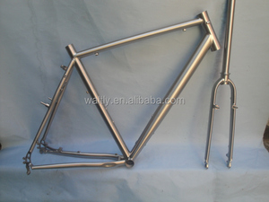 Cyclocross bike titanium road bike frame 700C with hydraulic disc brake