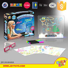 New product 3D magic erasable writing drawing board