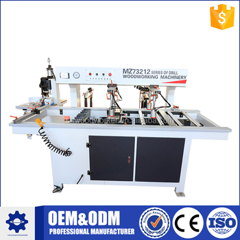 CNC horizontal wood drilling machine