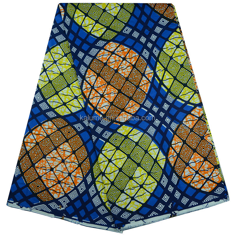 Guaranteed Hollandais Wax Fabrics Super Dutch Wax African Ankara Print Fabric For Nigerian Women Dress 02