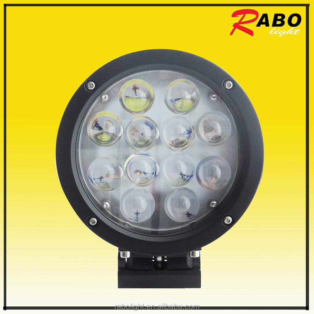 7 inch 60w round head light led work light trucks tractor off road work lamps