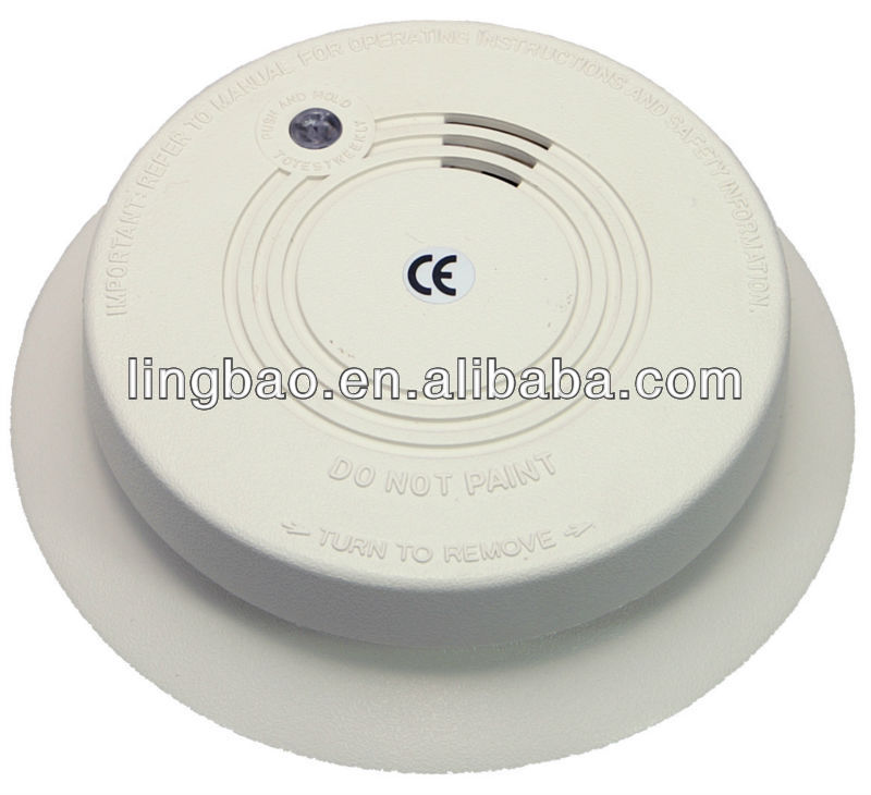 VDS and EN14604 approved Wireless Smoke Alarm Detector AK-218A