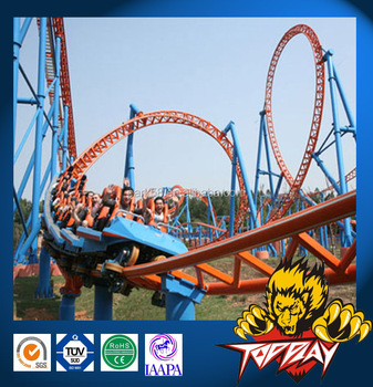 King of amusement thrilling cheap roller coaster for sale