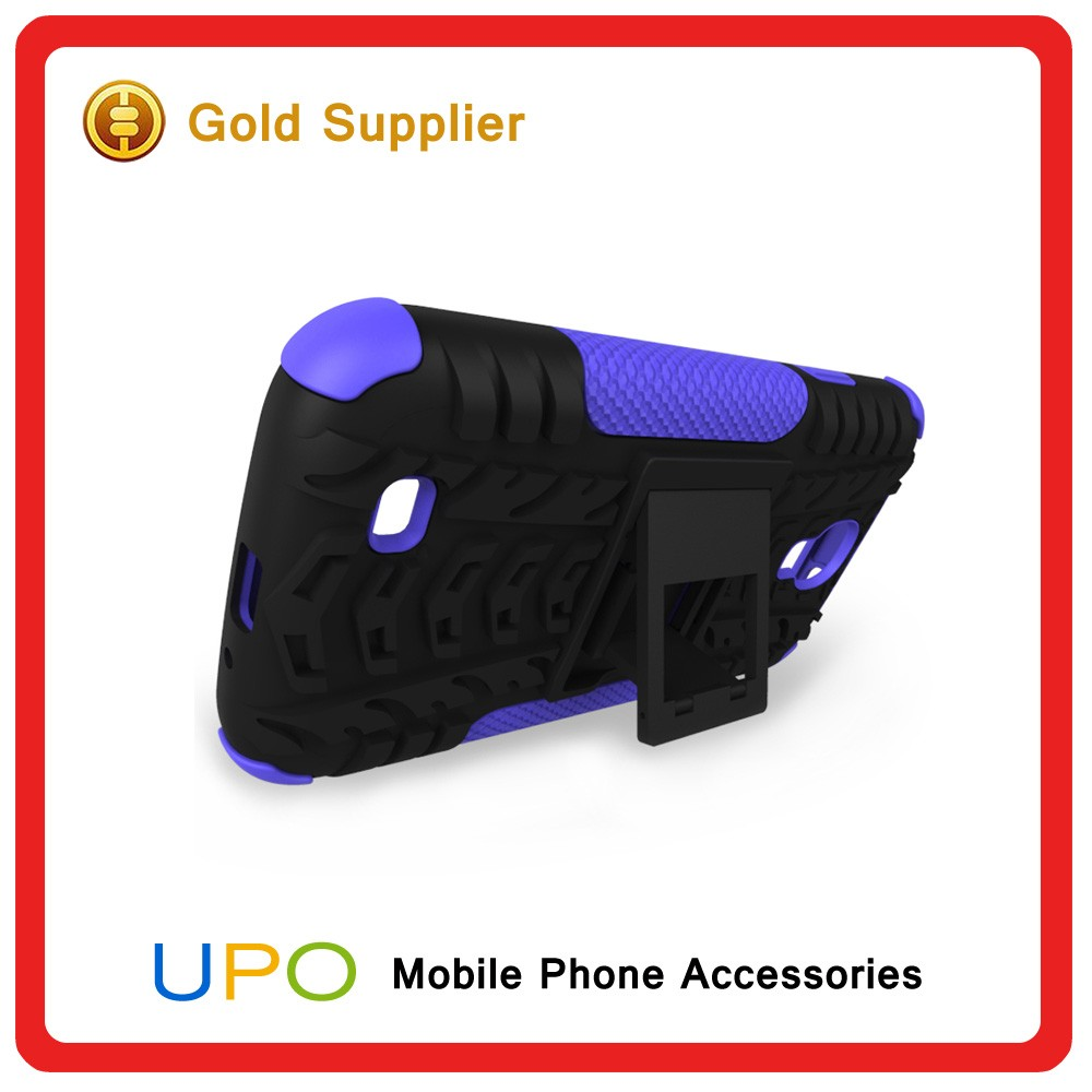[UPO] New Arrilal Heavy Duty Hard PC Silicon kickstand Shockproof Mobile Case for Samsung Galaxy S4