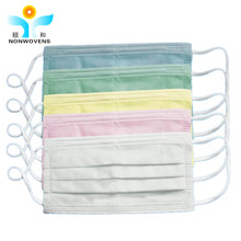 Health and Medical Product Disposable Nonwoven 3ply Face Mask, Mouth Cover