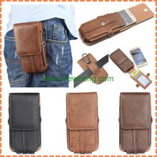 New products Universal Waist Belt Clip Leather Holster Case For iPhone 6 plus
