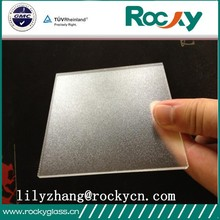 High quality tempered glass low iron 3.2mm solar panel glass