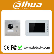 Dahua video intercom 7 Inch IP Kit VTK-VTO2000A-VTH1560BW 2-Door control