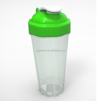 New BPA Free 600ML protein shake shaker bottle for 2014