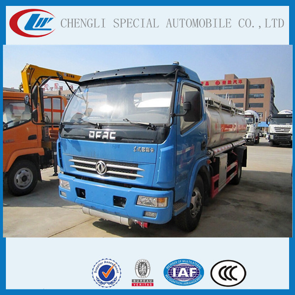 Euro standard production 4x2 LHD RHD Oil Transportation Tanker Truck with refuel pump 8000L Fuel Diesel oil Tank Truck Dimension