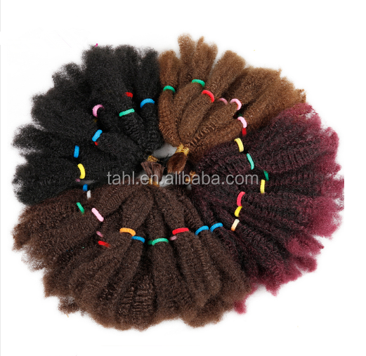High quality 10inch Curly Twist Braiding Hair Extensions