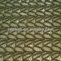solid colour jacquard knit fabric for knitwear