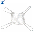 Xinglun rope 4 m*4 m shipping marine Cargo Sling Net for sale