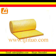 fiberglass wool insulation roll for ductwork for refrigeration machine waterproof