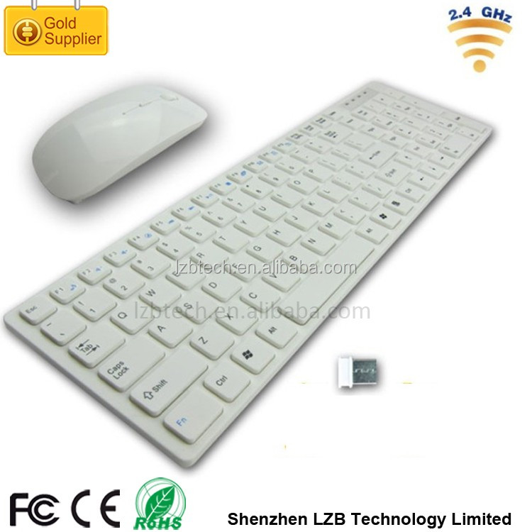 Wireless Laptop Keyboard and Mouse Combo, 2.4G Wireless Mouse Keyboard Set Long Battery Life