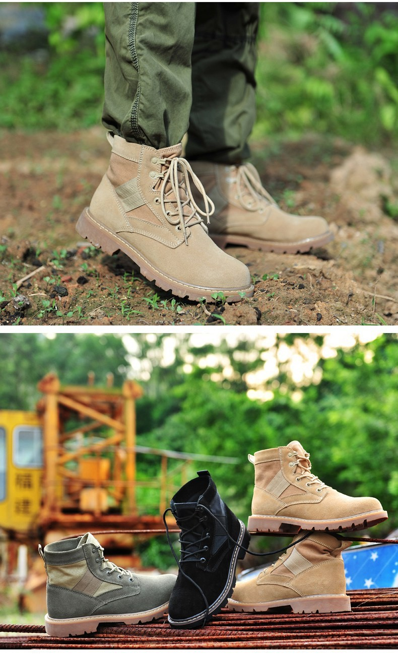 Loveslf best price outdoor hiking walking boots high quality sand Martins boots