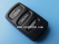 Remote Key Case Fob For MITSUBISHI Lancer Outlander Endeavor Galant 3 Button