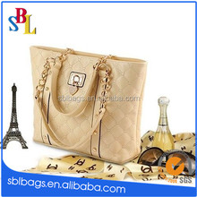 New Women Leather Handbag Purse Bags Chain Shoulder Bag Vintage Fashion Totes