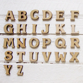 Funny Wood Letter Wall Decoration/ Kids Educational Toy - Laser Cutting Service