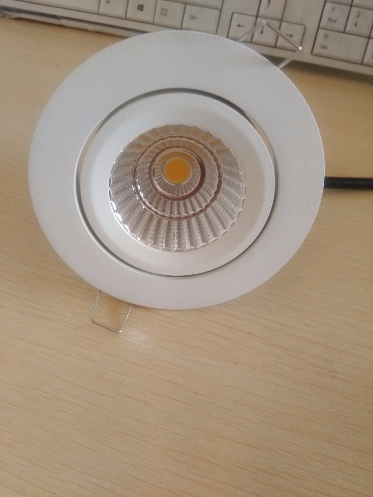6W New design Adjustable Recessed Downlight