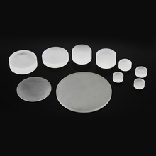 China wholesale price BK7 diameter 5 to 10mm double flat board optical glass lens blank