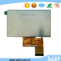 Shenzhen factory OEM/ODM TFT LCD module with RGB interface ,4.3 inch touch panel 480* (RGB )*272 for home application