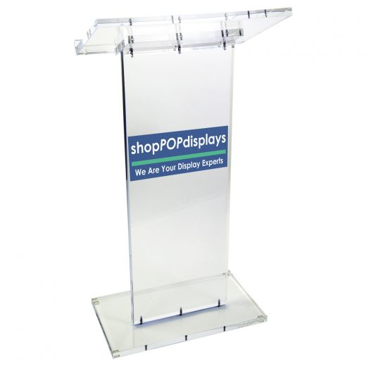 beautiful exclusive acrylic podium pulpit lectern Home Perspex Portable Stage
