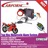 LCD motorcycle anti-theft system CFMC08 New 2-way motorcycle alarm system