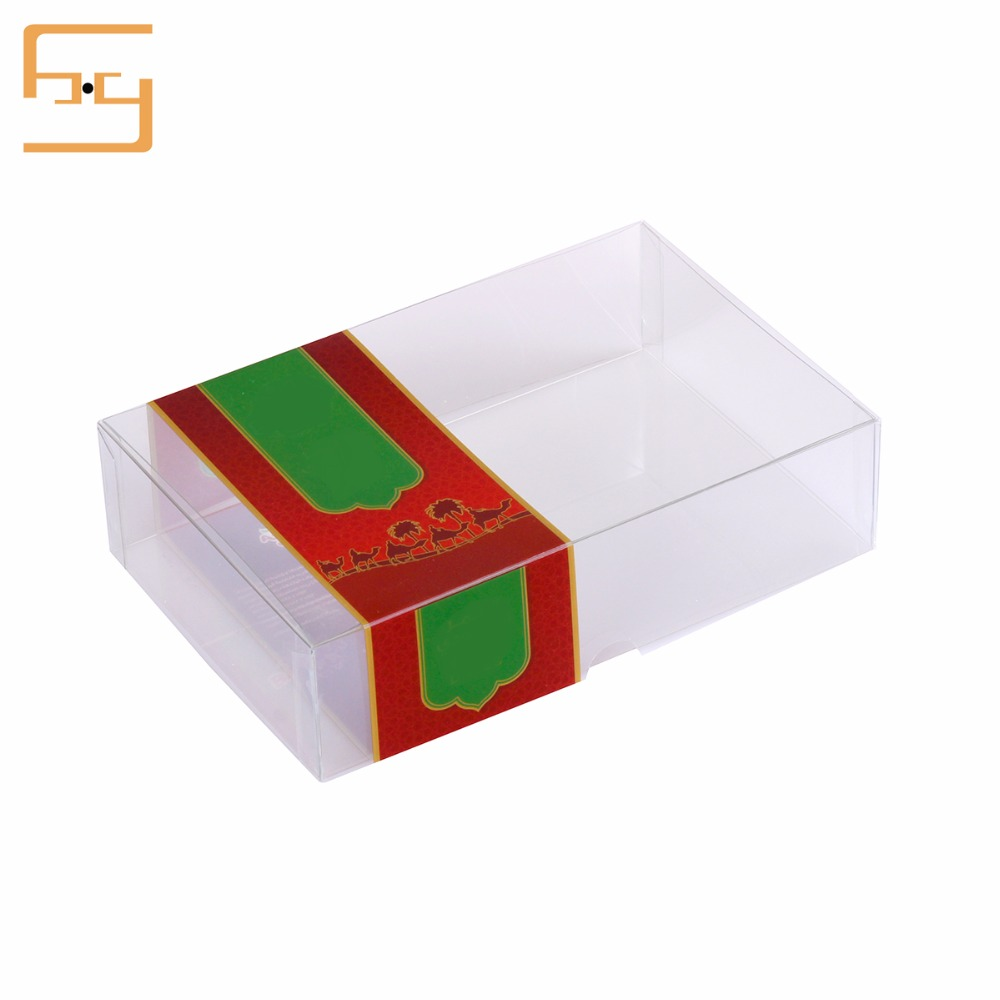 Newest Selling PP Plastic Transparent Perfumed Soap Packaging Gift Box