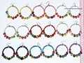 Seed Bead Pearls Hoop Earrings Jewelry Art Wholesale Peru