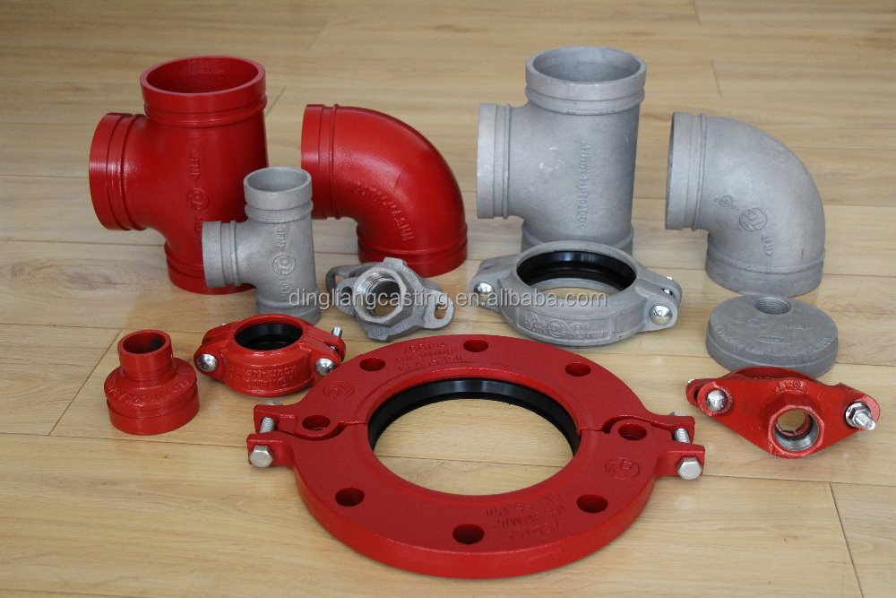 FM UL Approved ductile iron Pipe Fittings, Water Supply and Sewage usage