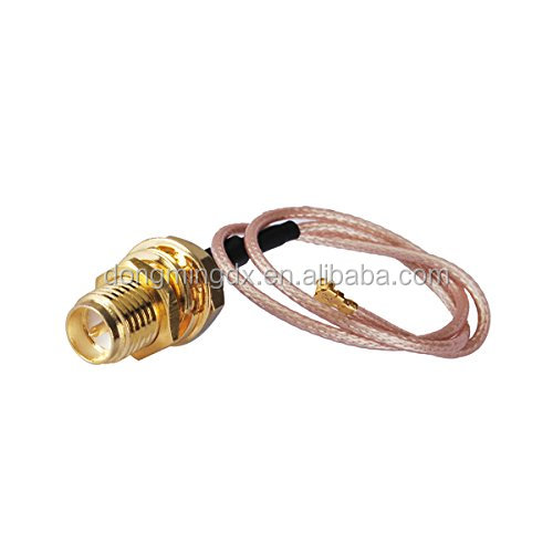 RF Pigtail Cable RP-SMA Female Connector to U.FL IPEX for Mini PCI RG178 30CM