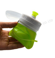 Collapsible BPA Free Silicone Water Bottle