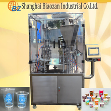 Boba tea/Yogurt/Honey/Ketchup/Sauce/Ice Cream/Syrup/Soymilk/Chilli/Juice Plastic Cup Filling and Sealing Machine
