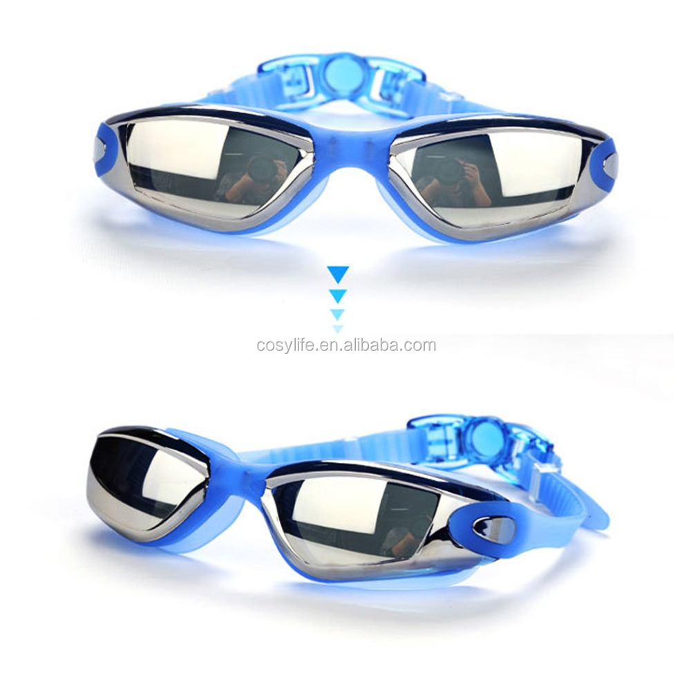 Swimming Goggles Anti Fog and Scratch Fashionable Swimming Glasses with Nice Case