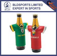 New personalized Olympic games promotional jersey bottle cooler