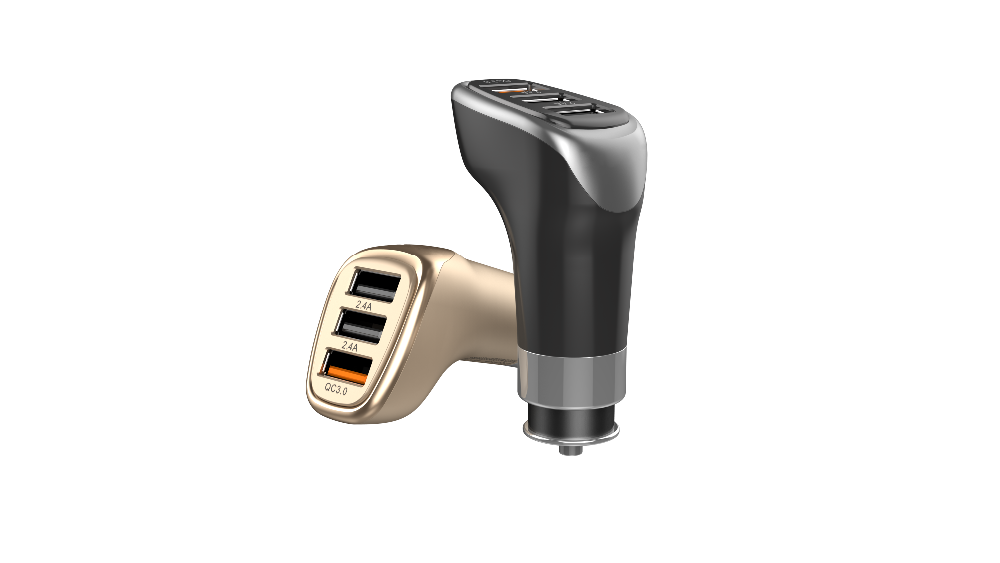 Quick Charge 3 port usb car charger QC 3.0 car charger For Qualcomm standard