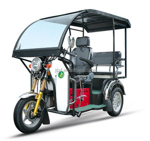 Disabled passenger tricycle, tricycle with cover