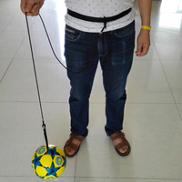 Soccer ball factory custom print soccer ball with rope size 4 for training