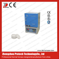 Protech mini electric furnace for heating treatment dental alloy ceramic -- PT-1700XF